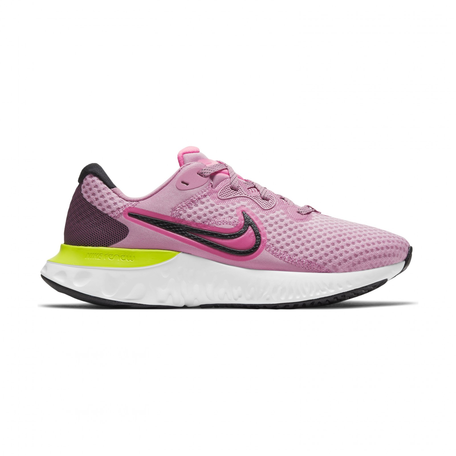 Nike Renew Run 2 ELEMENTAL PINK/SUNSET PULSE-BLACK-CYBER