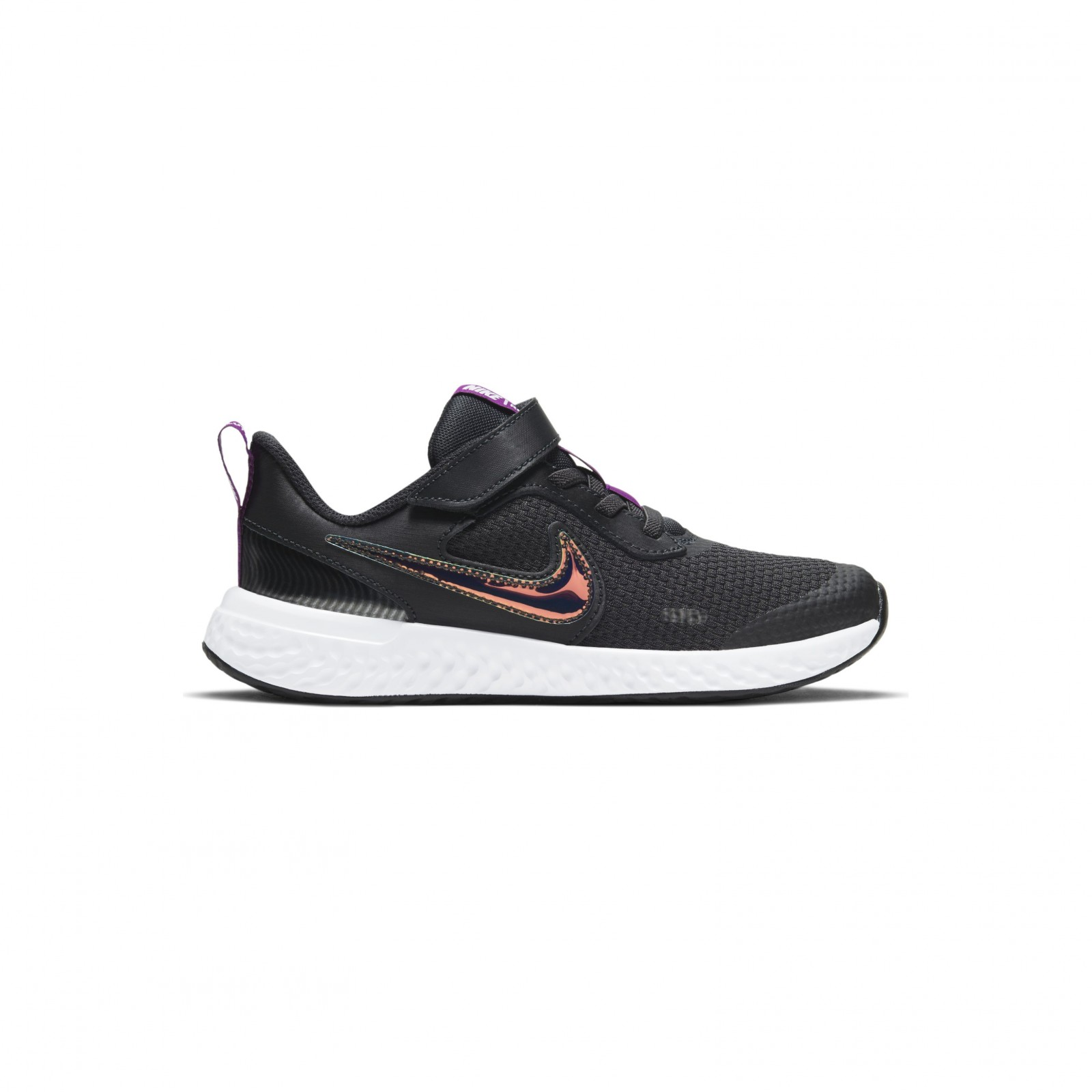 Nike Revolution 5 SE Power OFF NOIR/MULTI-COLOR-RED PLUM-WHITE