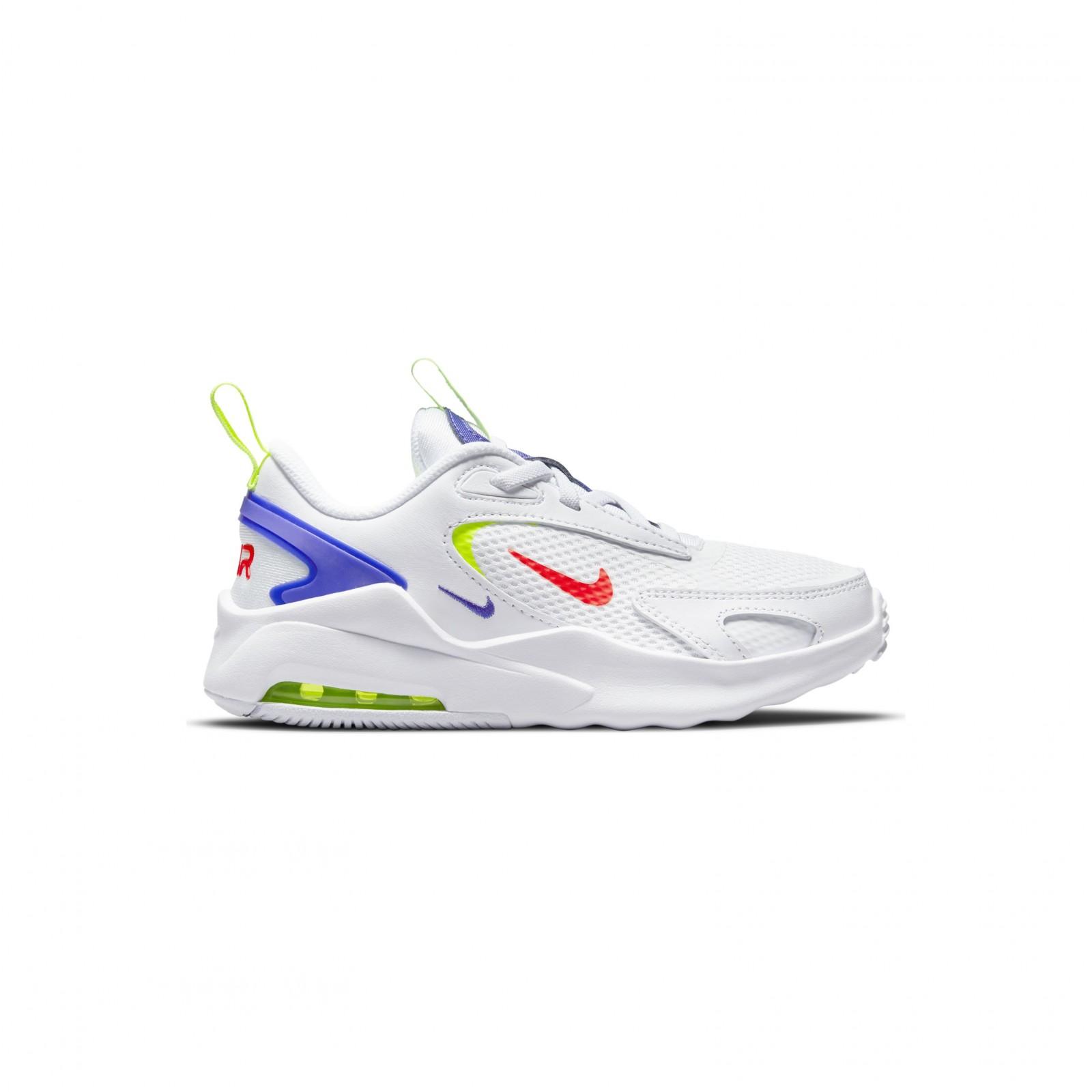 Nike Air Max Bolt WHITE/BRIGHT CRIMSON-VOLT-INDIGO BURST