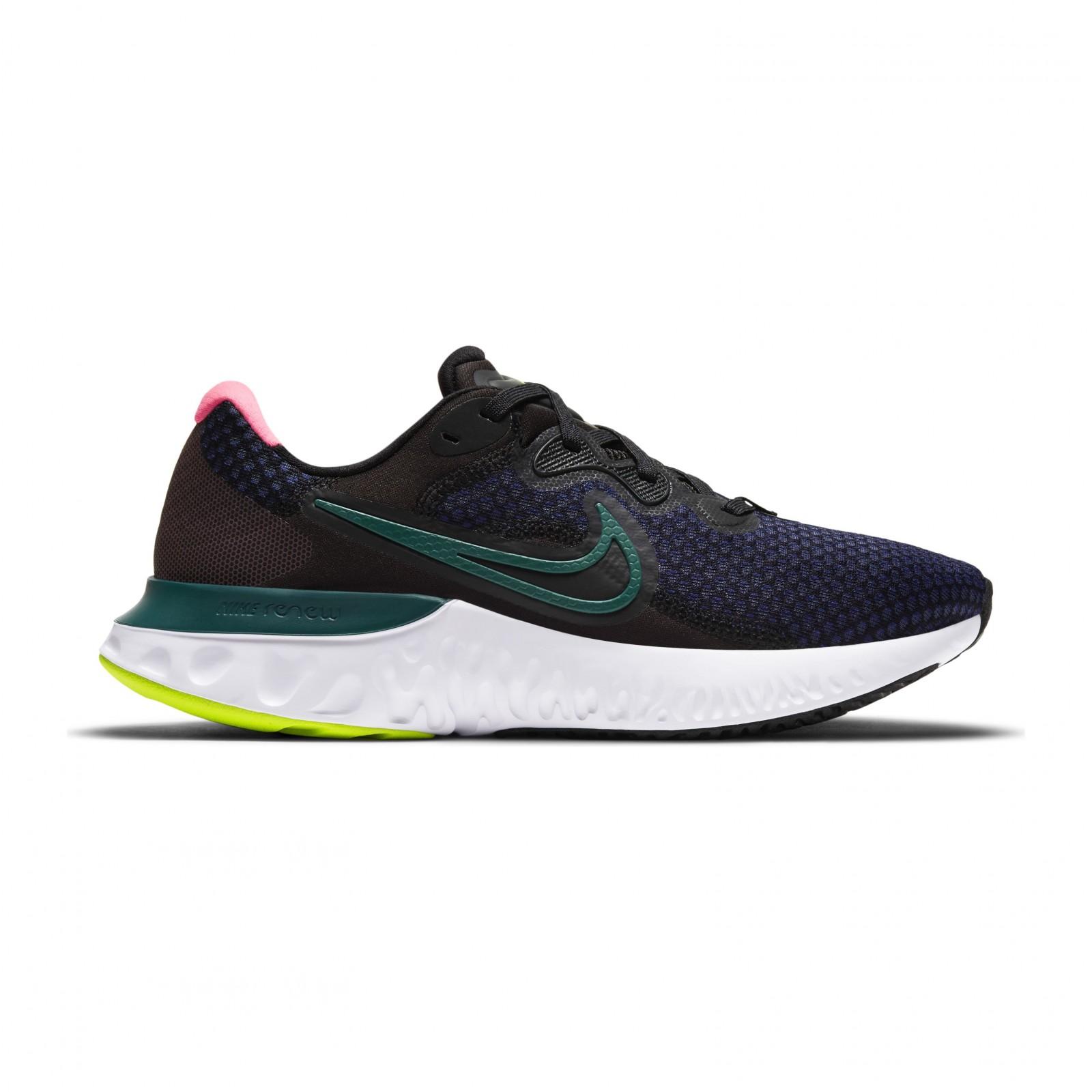 Nike Renew Run 2 BLACK/BLACKENED BLUE-DARK TEAL GREEN