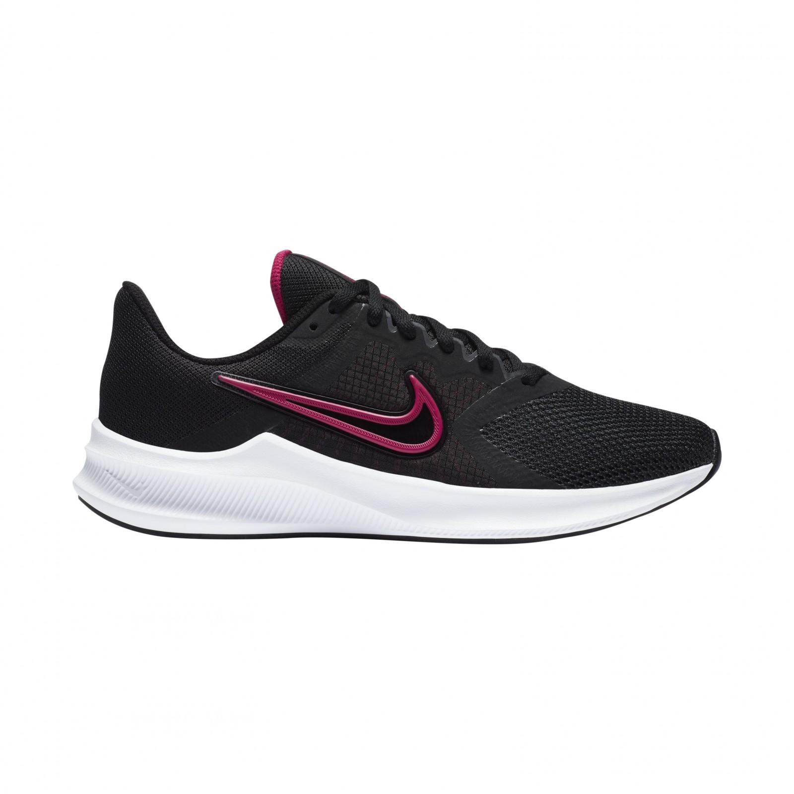 Nike Downshifter 11 BLACK/FIREBERRY-DK SMOKE GREY-WHITE
