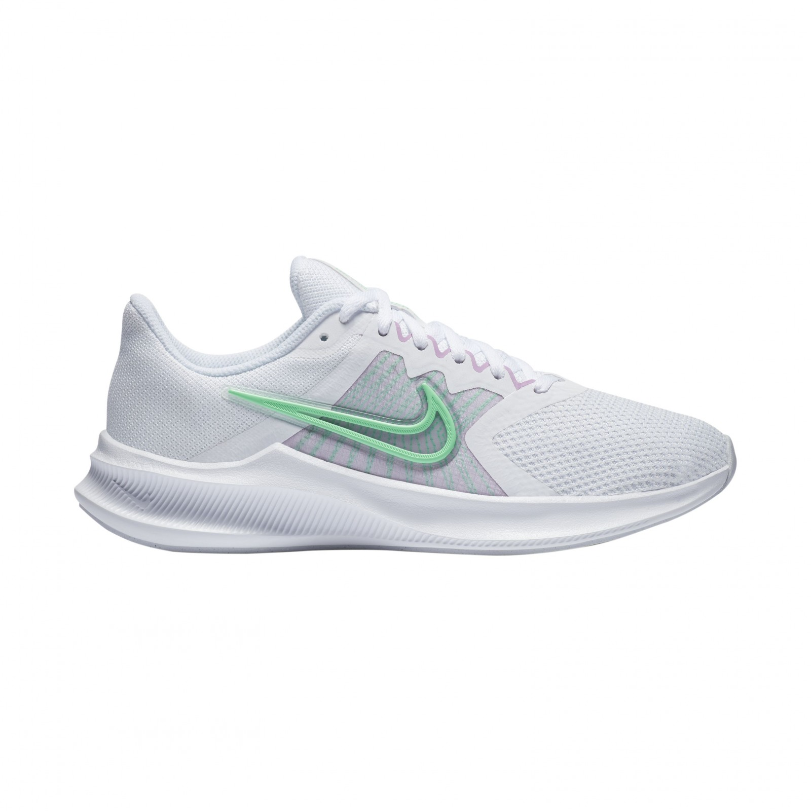 Nike Downshifter 11 WHITE/GREEN GLOW-INFINITE LILAC