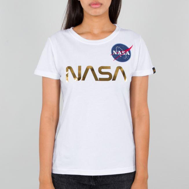 NASA PM T Wmn White