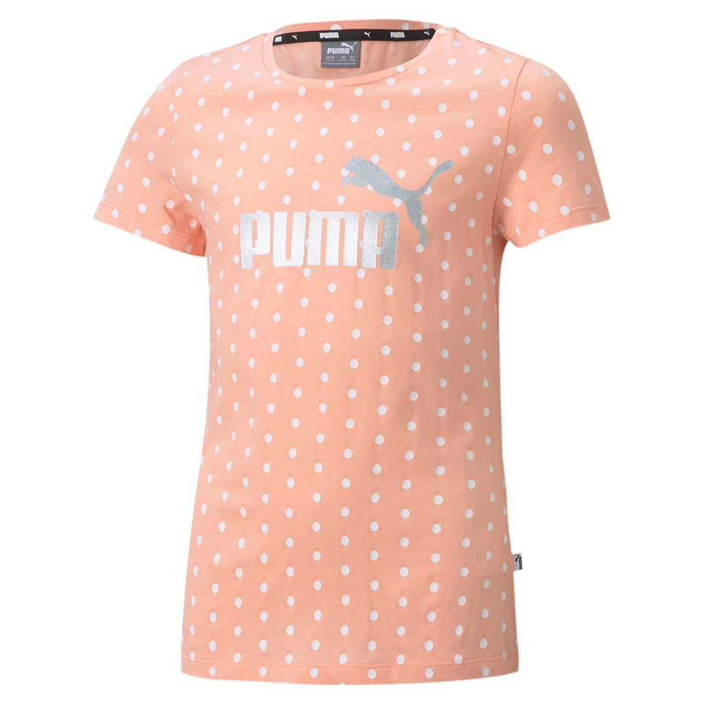 ESS+ Dotted Tee G Apricot Blush