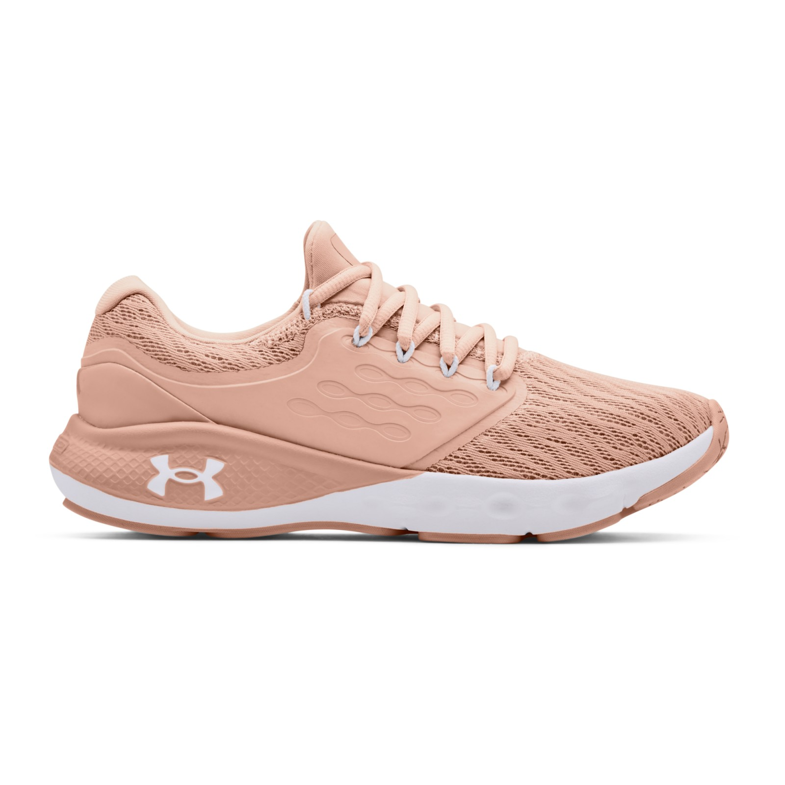 UA W Charged Vantage-PNK Particle Pink / Particle Pink / White
