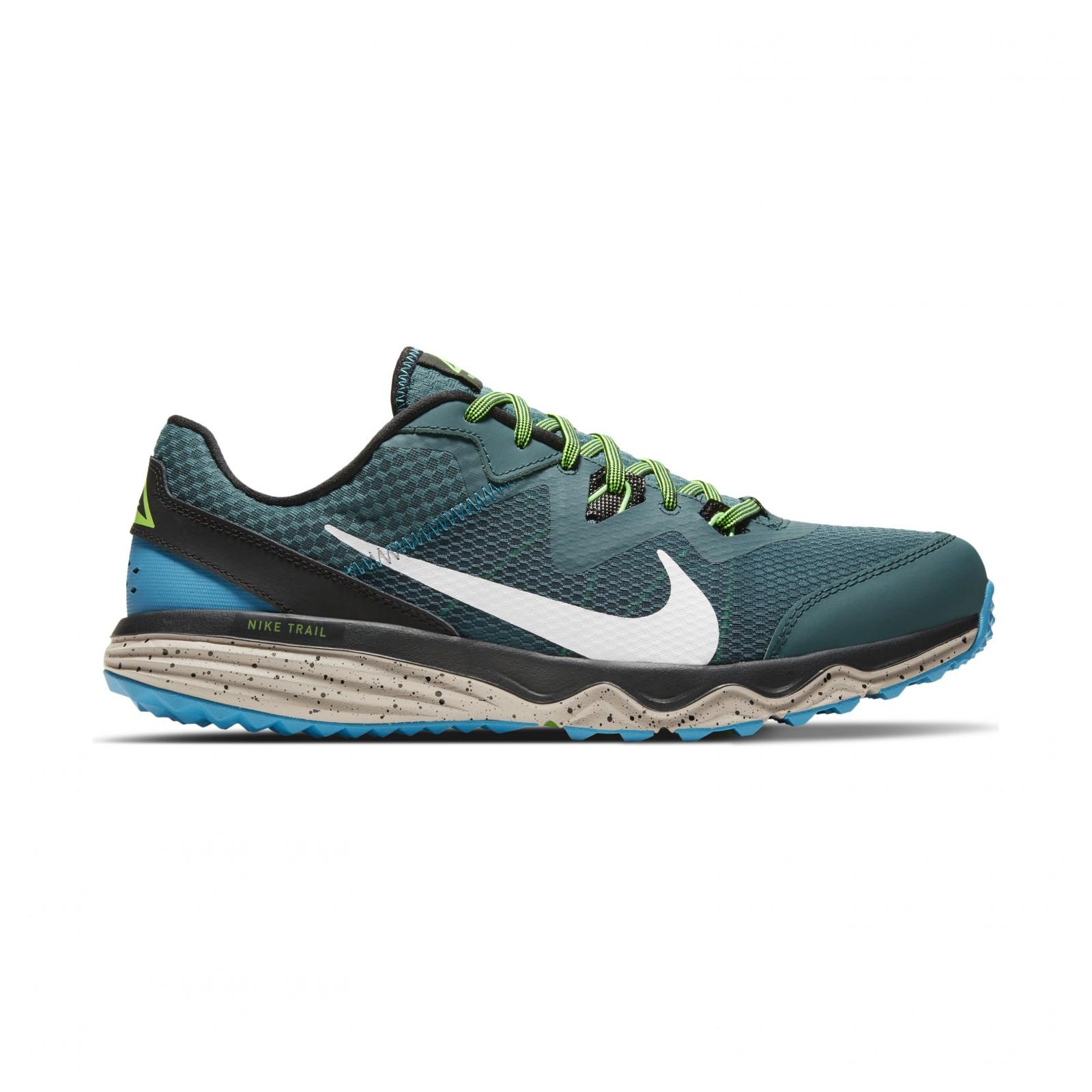 Nike Juniper Trail DARK TEAL GREEN/LIGHT SILVER-BLACK
