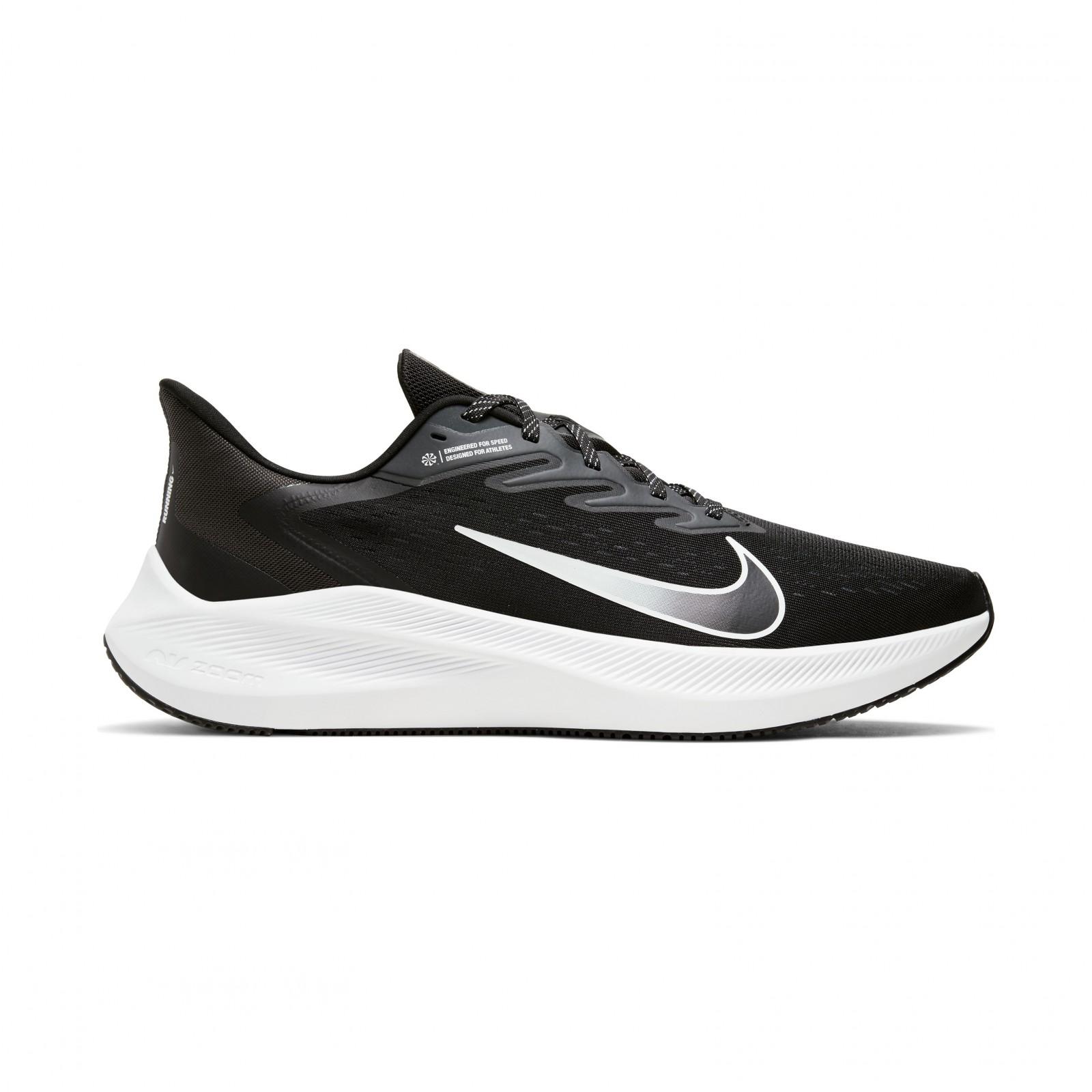 Nike Air Zoom Winflo 7 BLACK/WHITE-ANTHRACITE