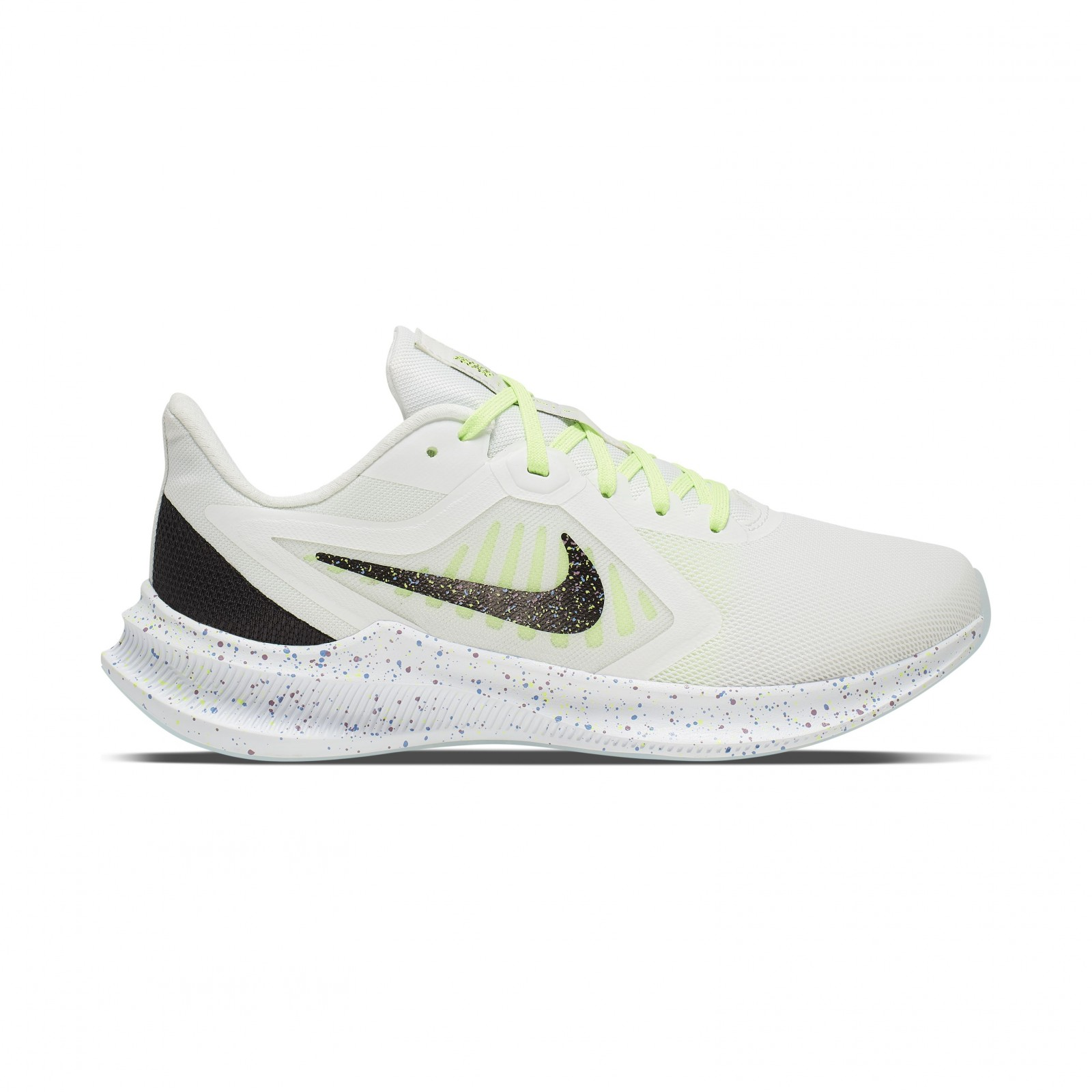 Nike Downshifter 10 SE SUMMIT WHITE/BLACK-GHOST GREEN