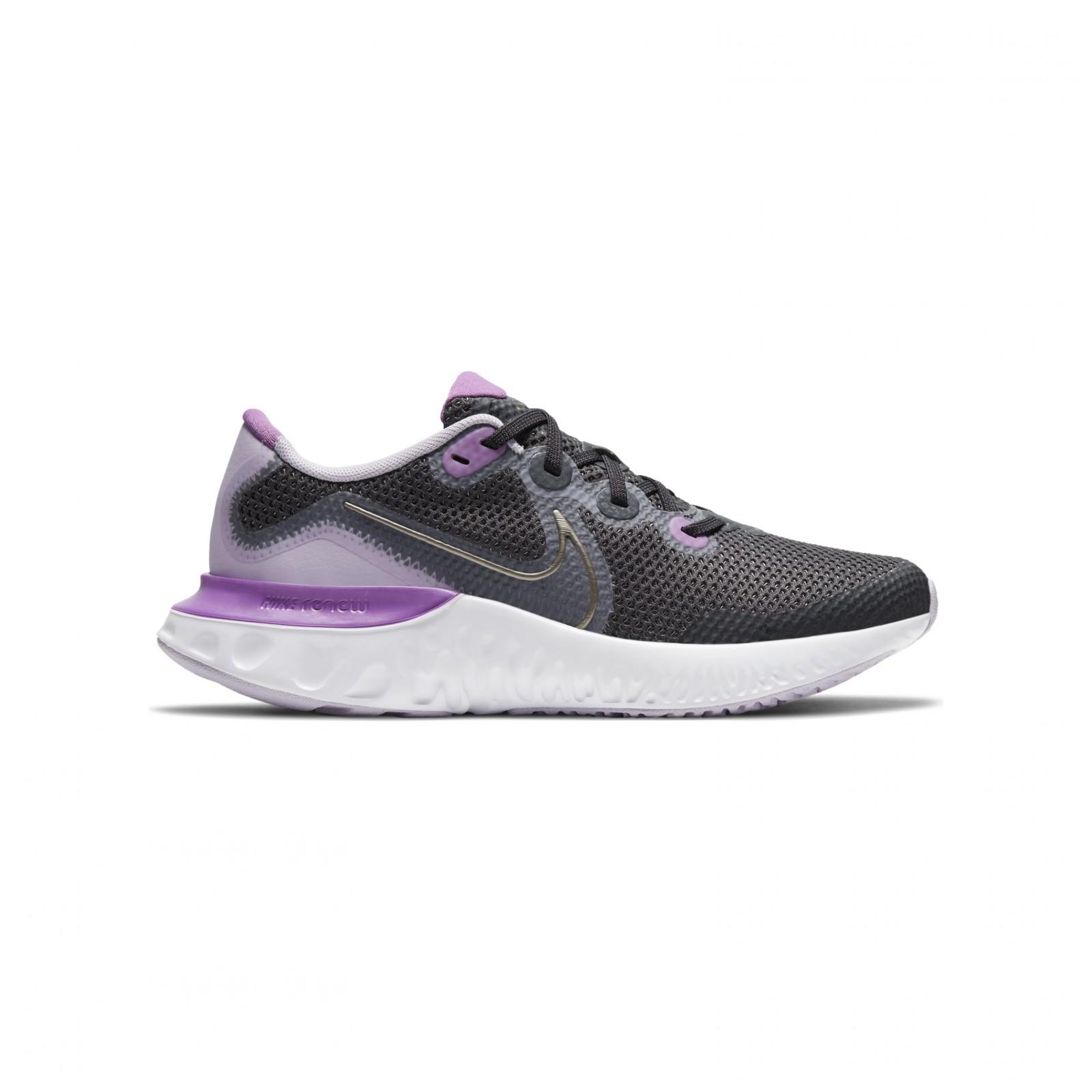 Nike Renew Run DK SMOKE GREY/MTLC PEWTER-VIOLET FROST