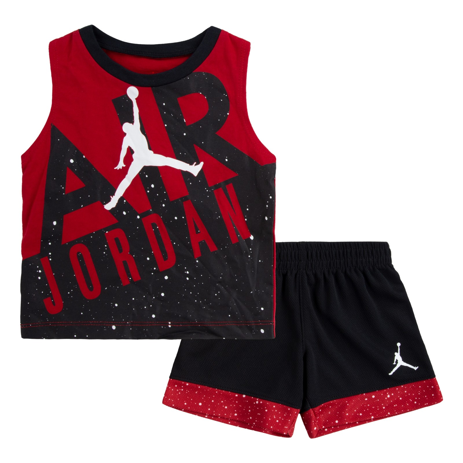 Nike b spec muscle and short set GYM RED