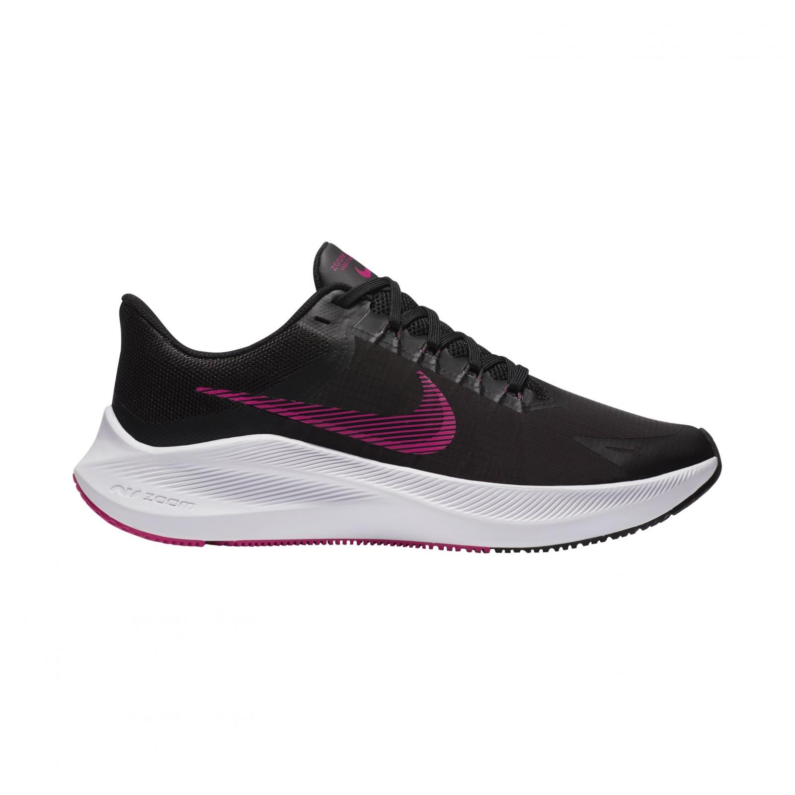 Nike Winflo 8 BLACK/FIREBERRY-DK SMOKE GREY-WHITE