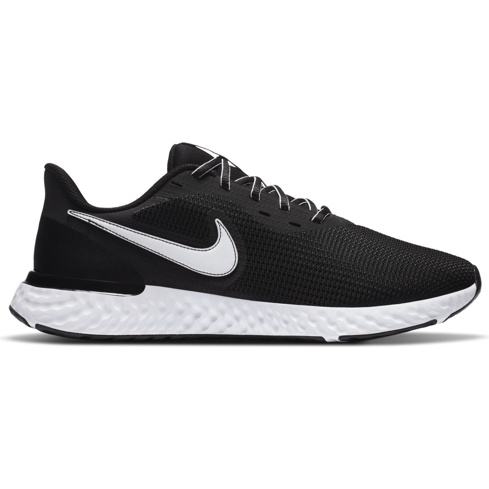 Nike Revolution 5 EXT BLACK/WHITE-DK SMOKE GREY