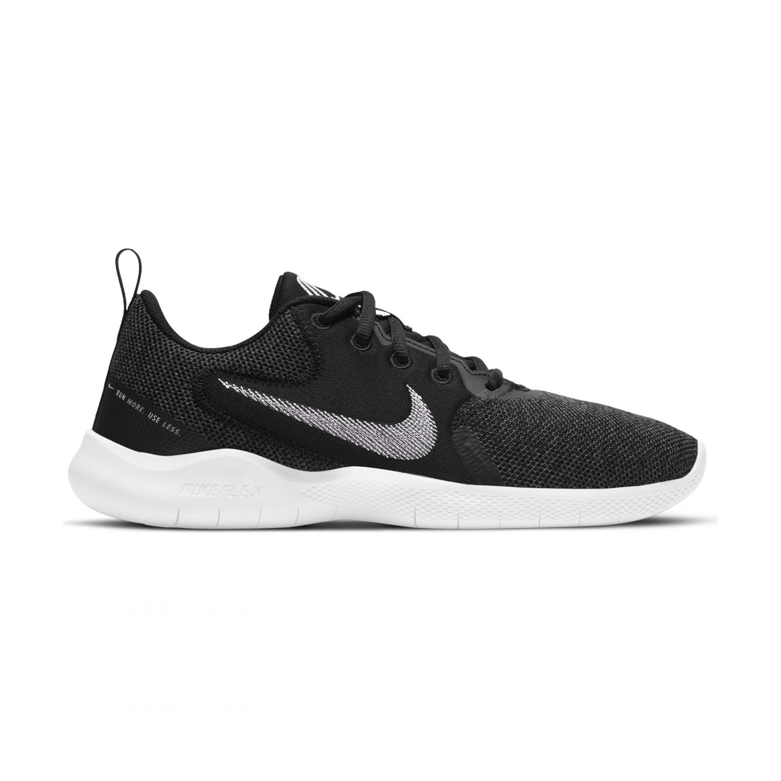 Nike Flex Experience Run 10 BLACK/WHITE-DK SMOKE GREY-IRON GREY