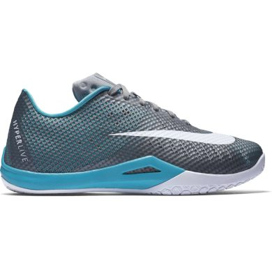 Nike hyperlive WOLF GREY/WHITE-CL GREY-OMG BL
