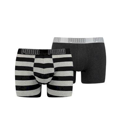 Puma yd bold stripe boxer 2p black