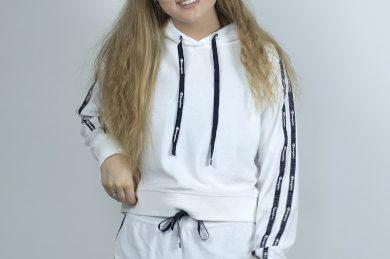 Hooded Sweatshi White