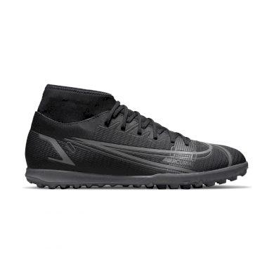 Nike Mercurial Superfly 8 Club TF BLACK/BLACK-IRON GREY