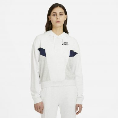 Nike Sportswear Heritage BIRCH HEATHER/GREY HEATHER/BLACK