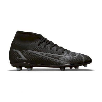 Nike Mercurial Superfly 8 Club MG BLACK/BLACK-IRON GREY