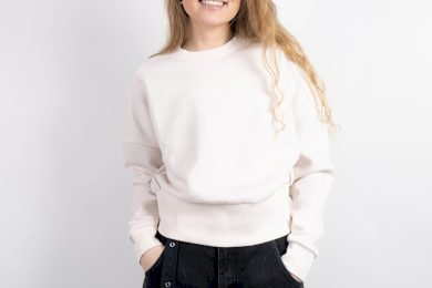 Guess sweatshirt TOUCH OF MAUVE