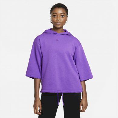 Nike Sportswear Icon Clash - W Sleeve Hoodie WILD BERRY/PURPLE STARDUST