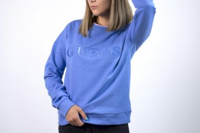 Guess alene sweatshirt MIDDAY BLUE