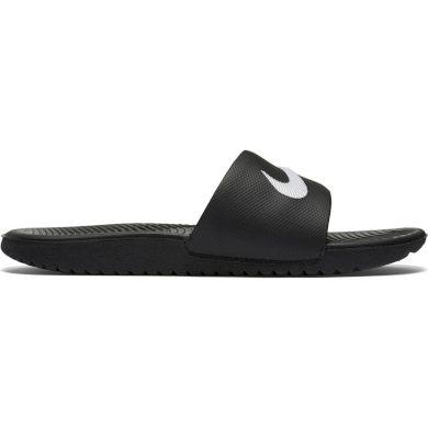 Nike kawa slide (gs/ps) BLACK/WHITE