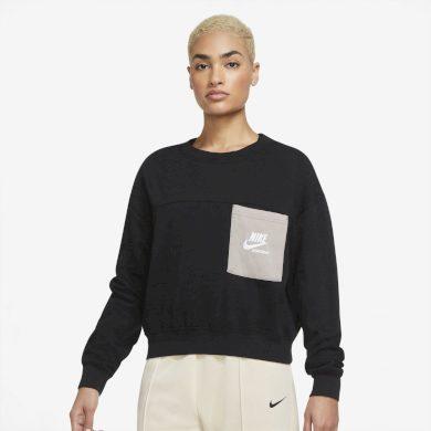 Nike Sportswear Heritage BLACK/MOON FOSSIL/WHITE