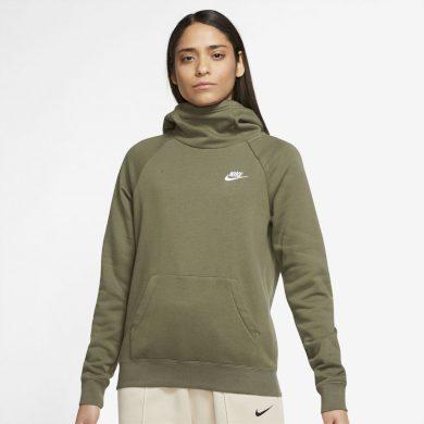 Nike Sportswear Essential Pullover Hoodie BROWN