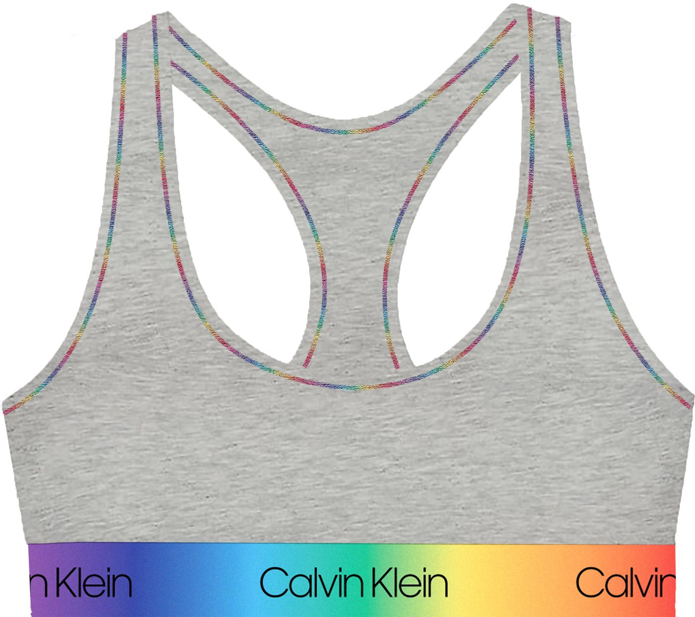 Dámská podprsenka Calvin Klein šedá