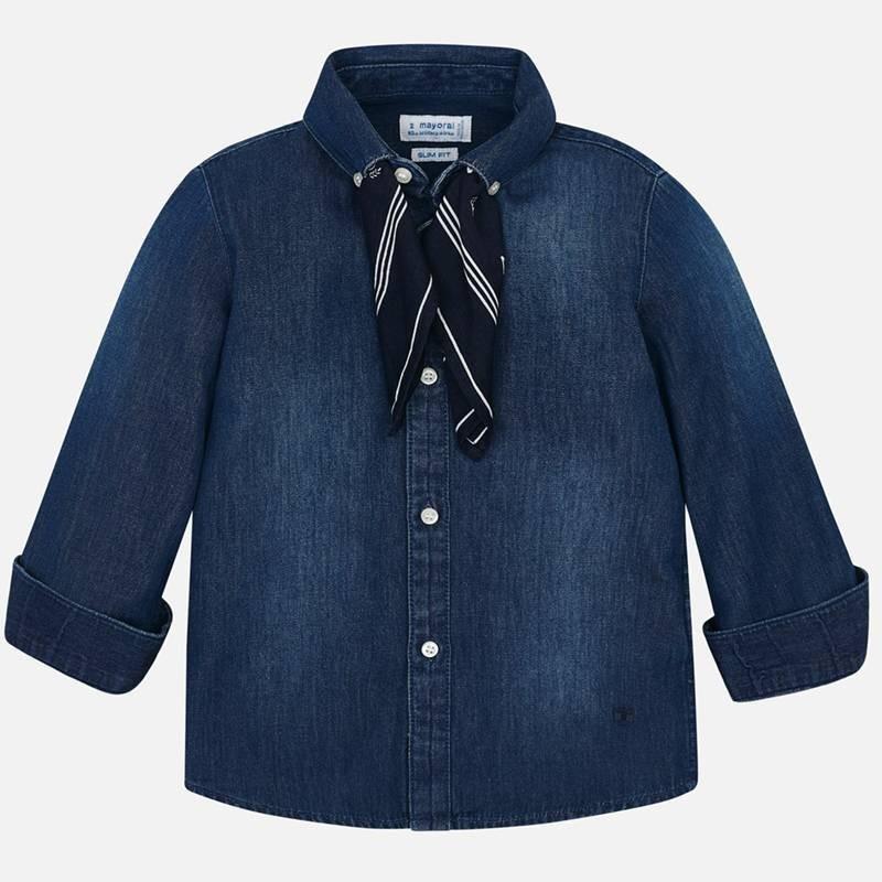 Mayoral chlapecká košile s šátkem 4124