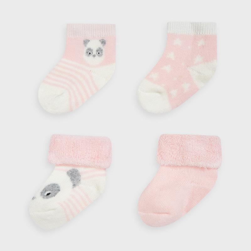 Mayoral set 4 párů kojeneckých ponožek 9302-079