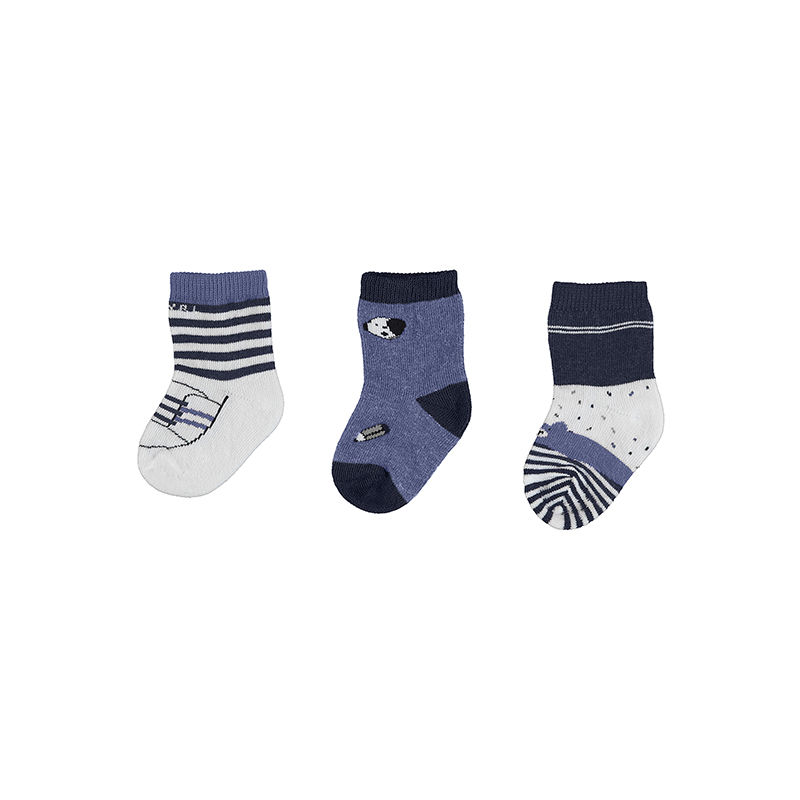 Mayoral set 3 párů kojeneckých ponožek 9305-012