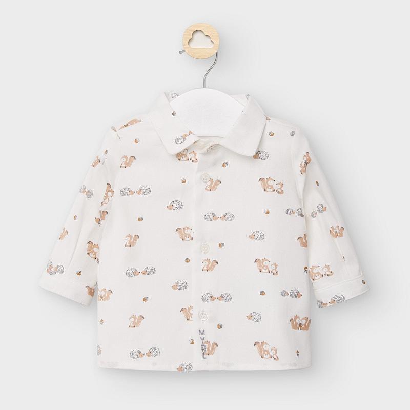 Mayoral kojenecká chlapecká košile 2120-054