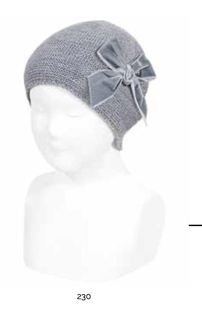 Condor dívčí čepice šedá 100-50036011-S-230