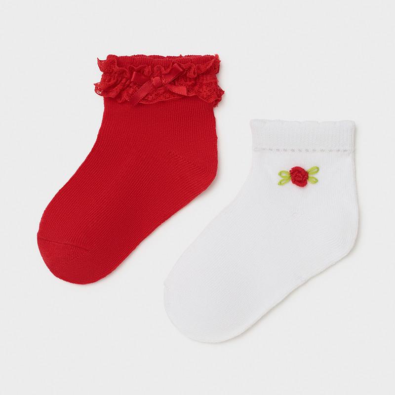 Mayoral dívčí ponožky set 2 párů 10011 - 028