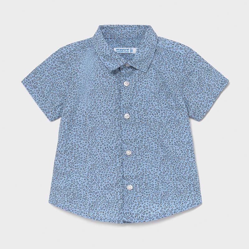 Mayoral chlapecká košile s krátkým rukávem 1114 - 096