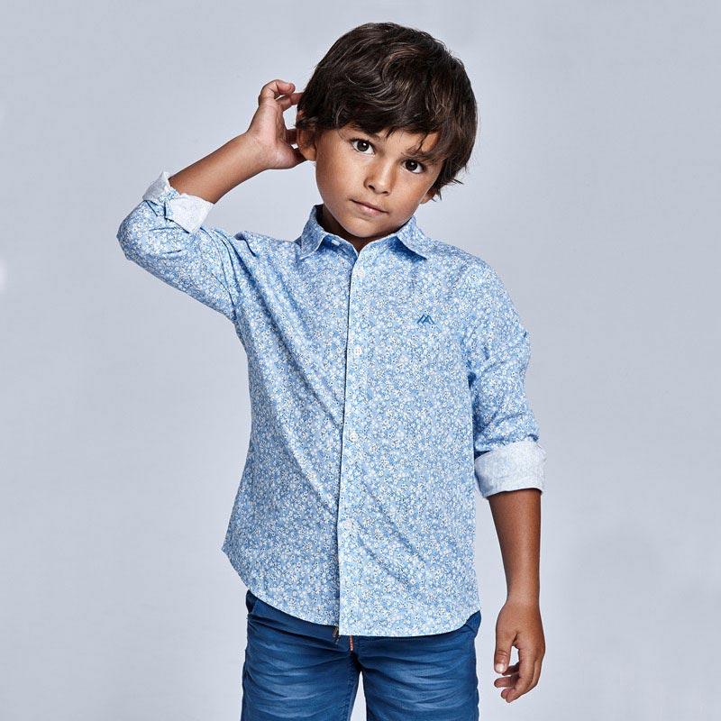 Mayoral chlapecká košile s dlouhým rukávem 3131 - 094