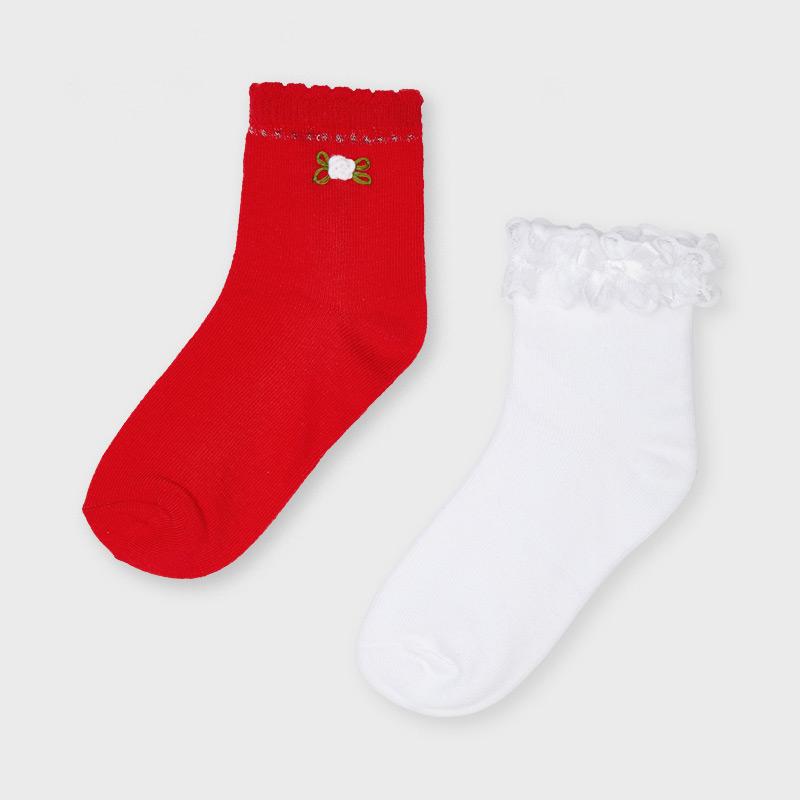 Mayora dívčí ponožky set 2 párů 10056 - 013