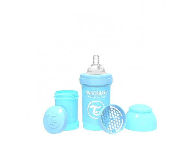 Twistshake kojenecká láhev Anti - Colic 180 ml modrá K78250