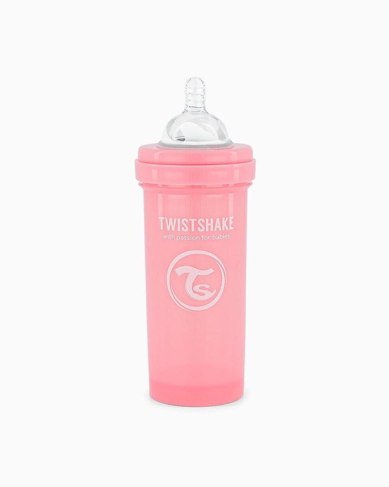 Twistshake kojenecká láhev Anti - Colic 260 ml růžová K78255