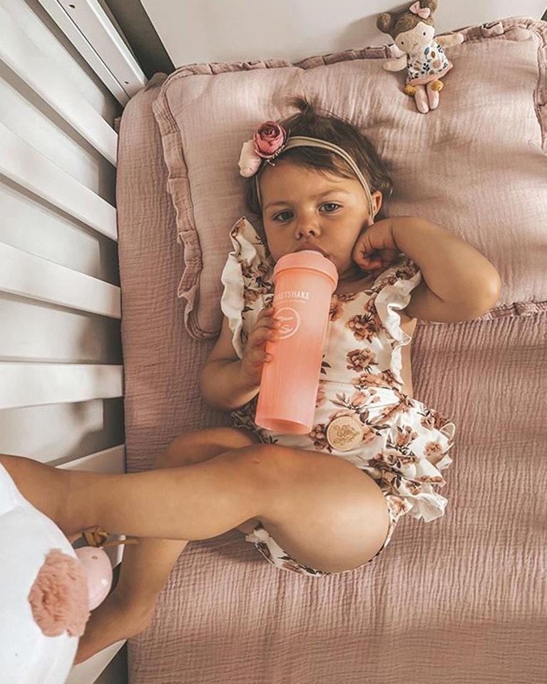 Twistshake kojenecká láhev Anti - Colic 330 ml růžová K78261