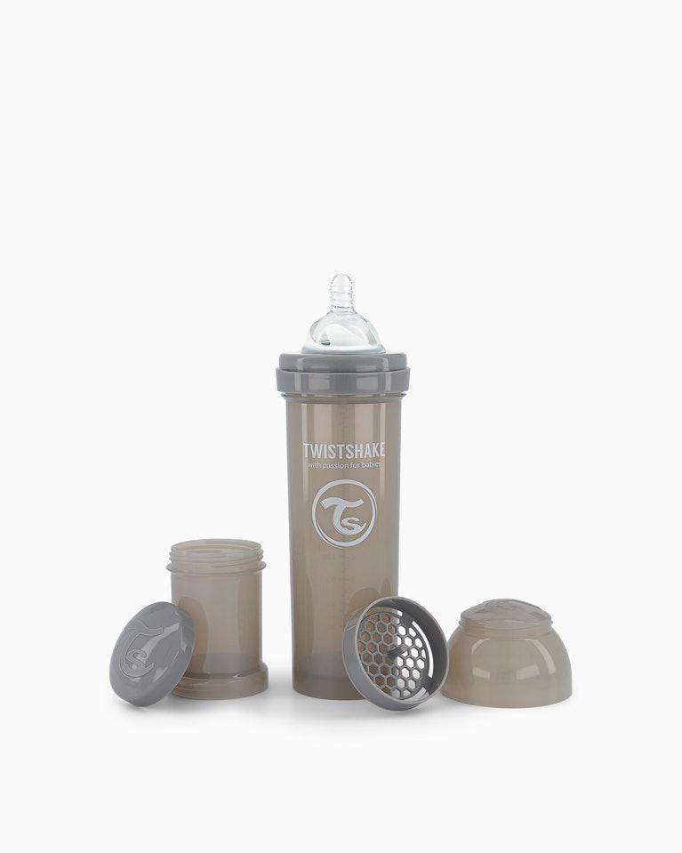 Twistshake kojenecká láhev Anti - Colic 330 ml šedá K78266