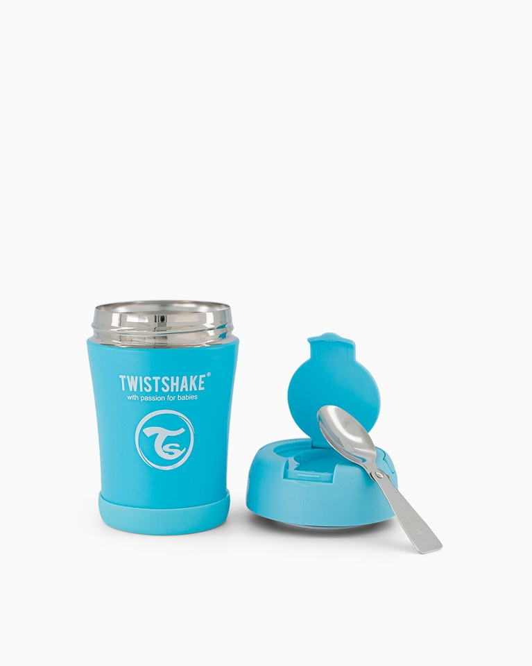 Twistshake termoska na jídlo 350 ml modrá K78750
