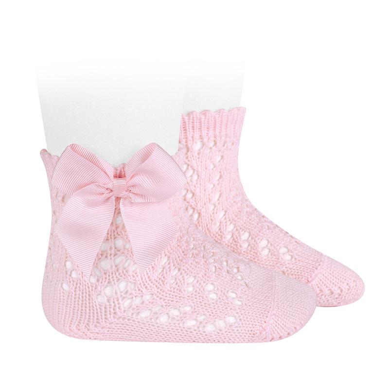 Condor dětské ponožky s mašlí 25194 - 500