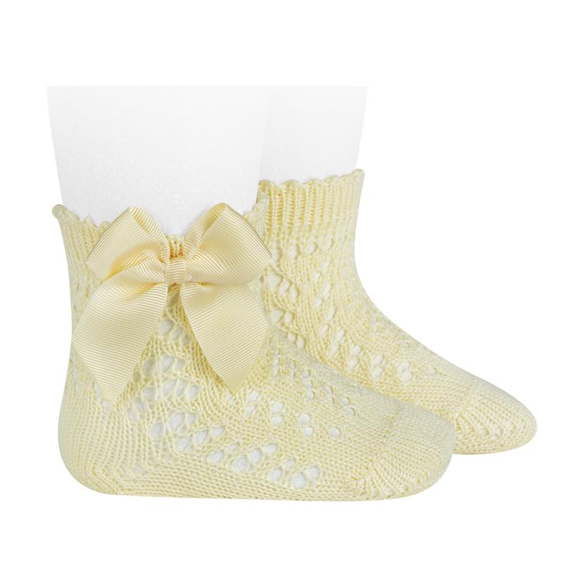 Condor dětské ponožky s mašlí 25194 - 610