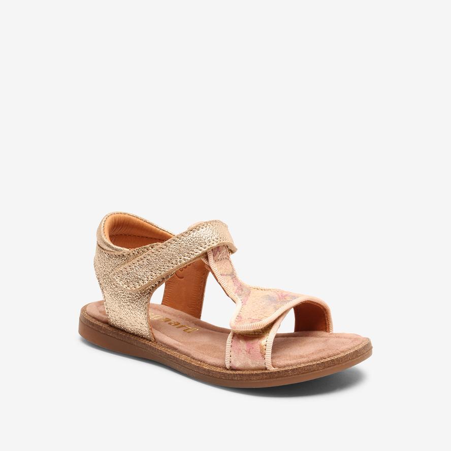 Bisgaard dívčí kožené sandály 70248 - 2200