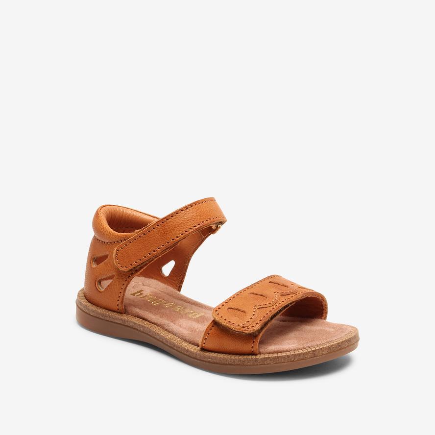 Bisgaard dívčí kožené sandály 70275 - 1335