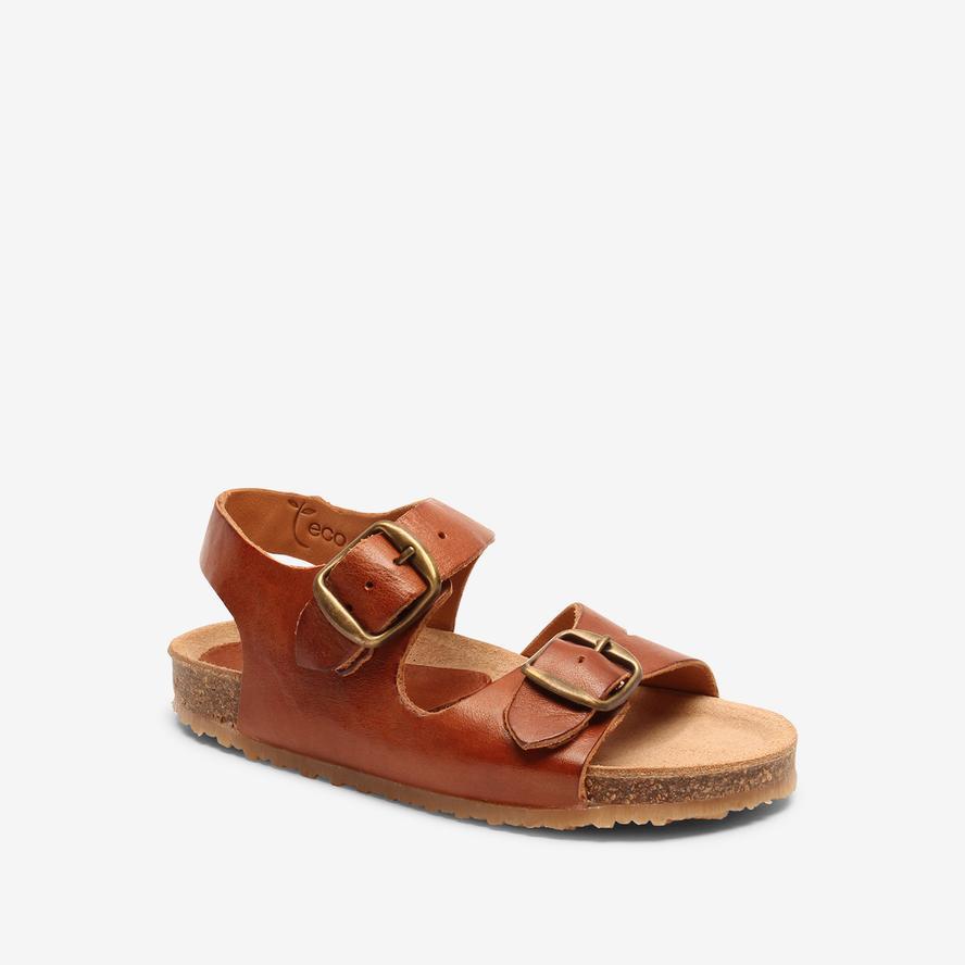 Bisgaard dětské kožené sandály 70277 - 1300