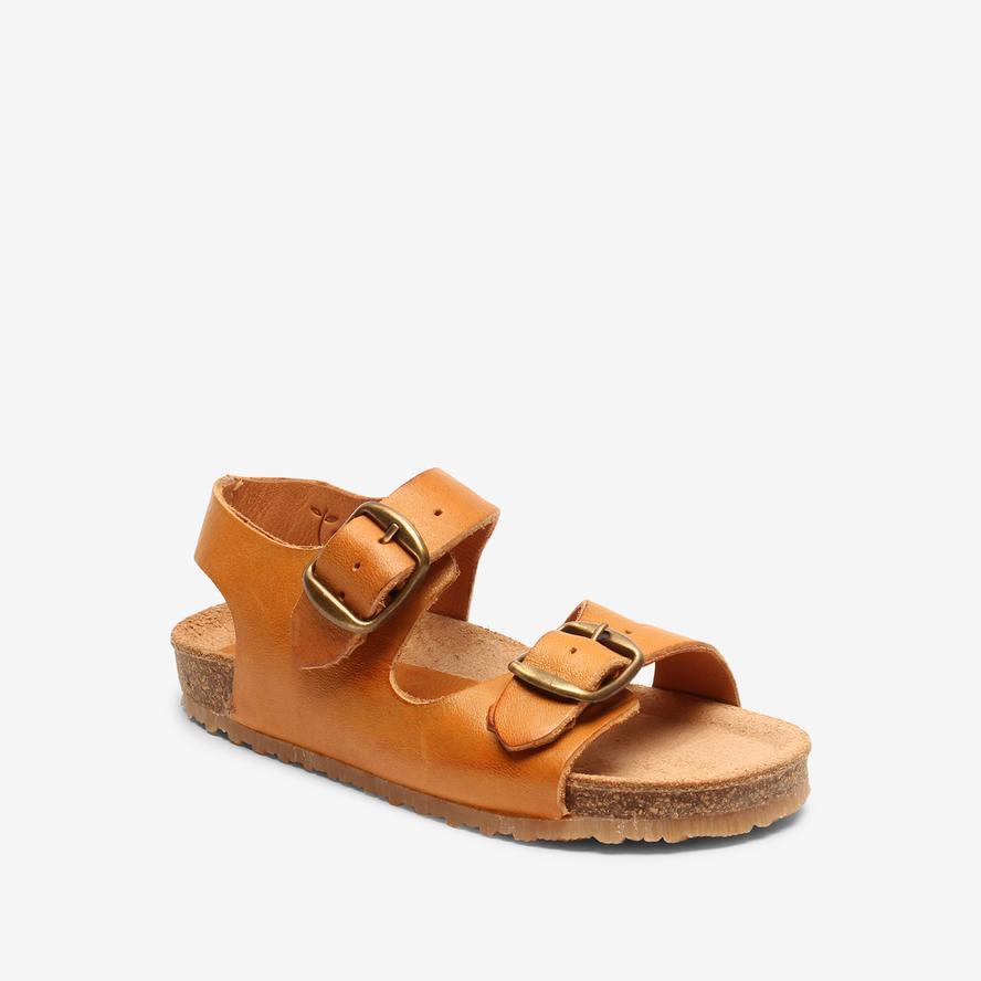 Bisgaard dětské kožené sandály 70277 - 2112